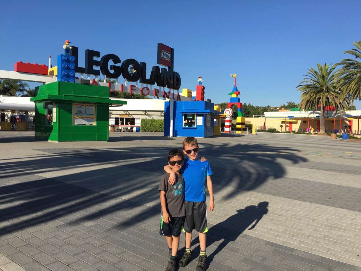 San Diego trip planning in Seattle because of Legoland