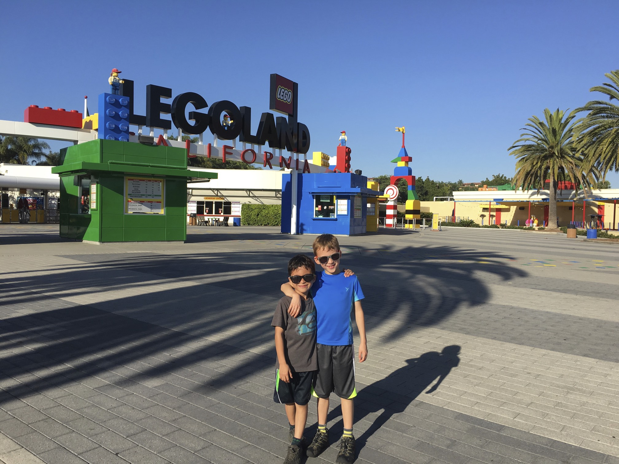 California Legoland with 7-year old boys
