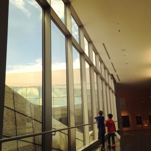 Tacoma Art Museum with kids