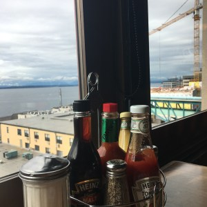Lowells restaurant in pike place market third floor window
