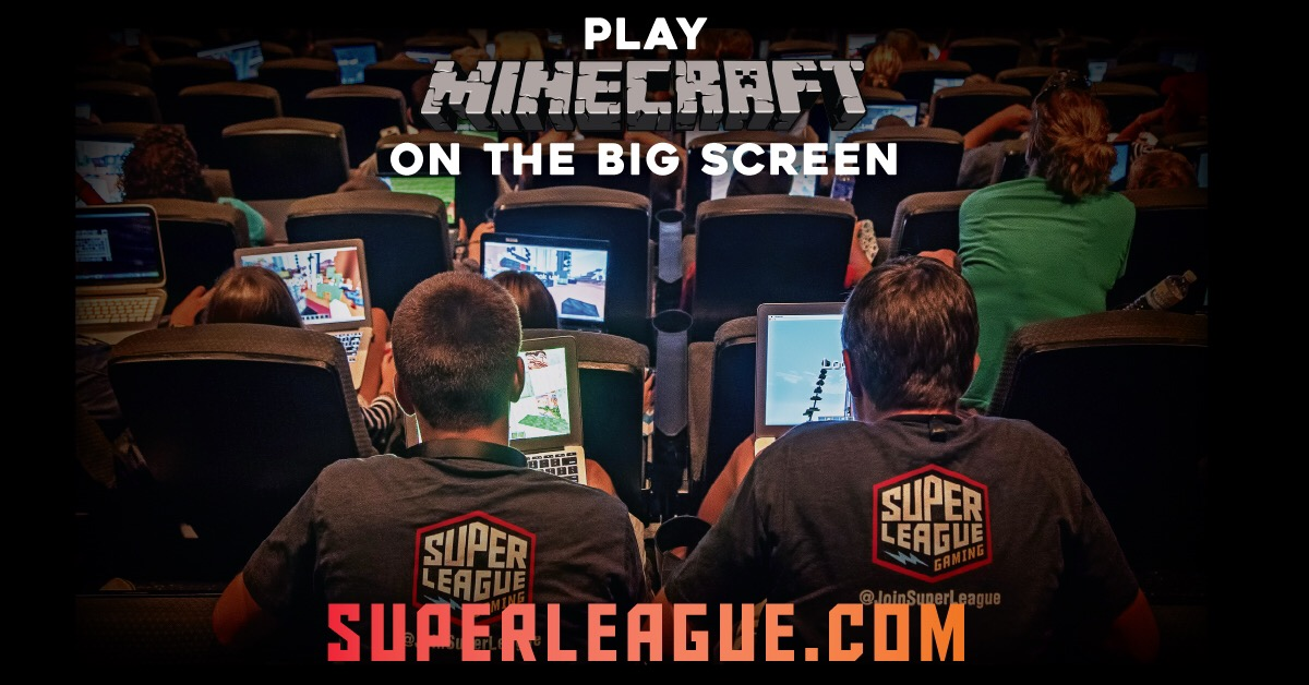 Minecraft event with Super League Gaming near Seattle