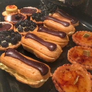 Pastries from French Connections at Caffe D'arte