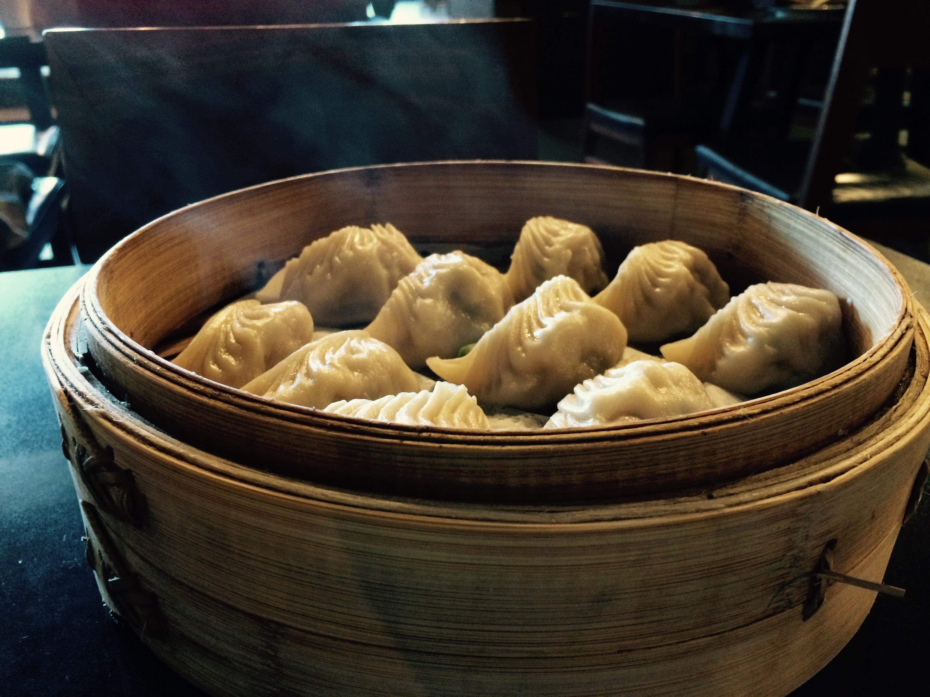 Dumplings at Din Tai Fung in Seattle