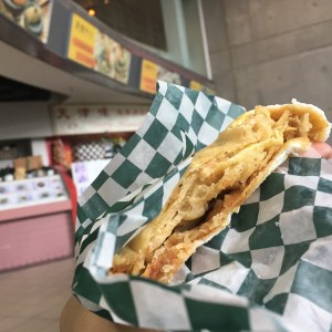 Crepe from O'tray Noodle in Richmond BC
