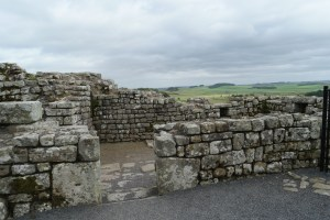 Hadrian's Wall in between York and Edinburgh on a roadtrip