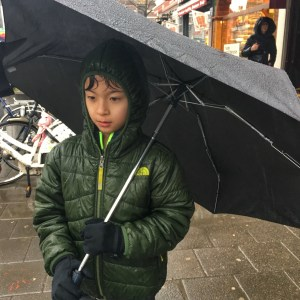 Rainy February Day in Amsterdam with kids