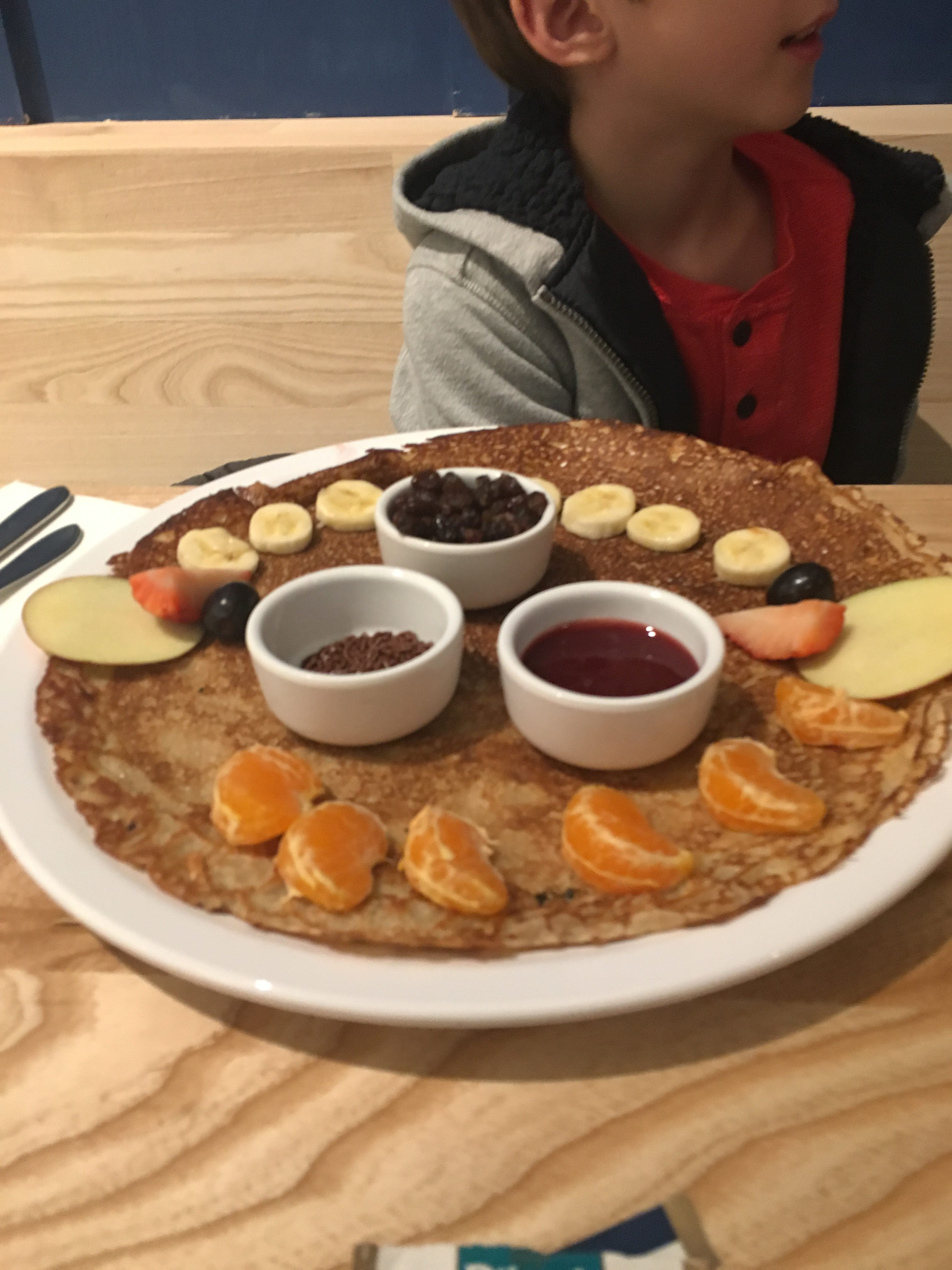 Pancakes and other kid-friendly restaurants and hotels in Amsterdam like the Foodhallen
