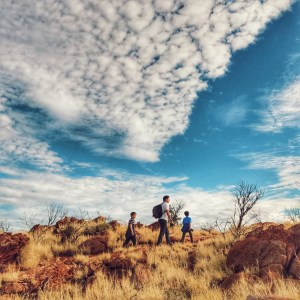Alice Springs with kids in Australia