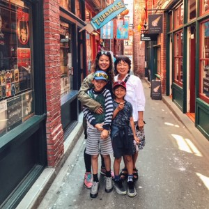 Fan Tan Alley with kids