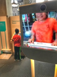 Drive around your own robot in Seattle with kids