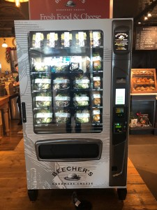 Vending machine at Beechers Cheese at Seattle Tacoma Airport