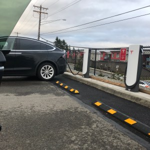 new Tesla electric car charger in Lynnwood