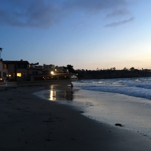 La Jolla Beach in San Diego is a beautiful holiday place for families and friends in California