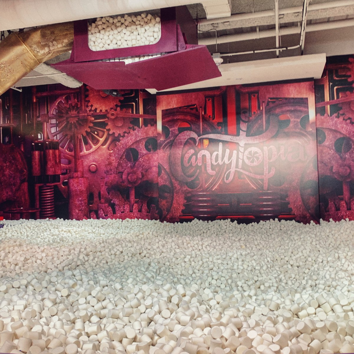 Yes you can Candytopia alone in San Francisco and still have a party