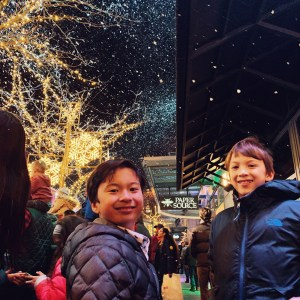 Snowflake Lane at the Bellevue Collection is free overnight from 7pm until December 24th