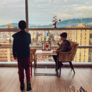 Review of Sheraton Vancouver Wall Centre hotel for families visiting Vancouver BC and booking a club level room