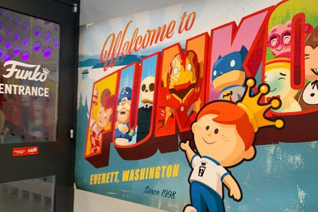 Funko Headquarters in Everett is a great stop between Vancouver BC and Seattle on a road trip with kids