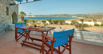 Θέα από μπαλκόνι στις Ανέμες