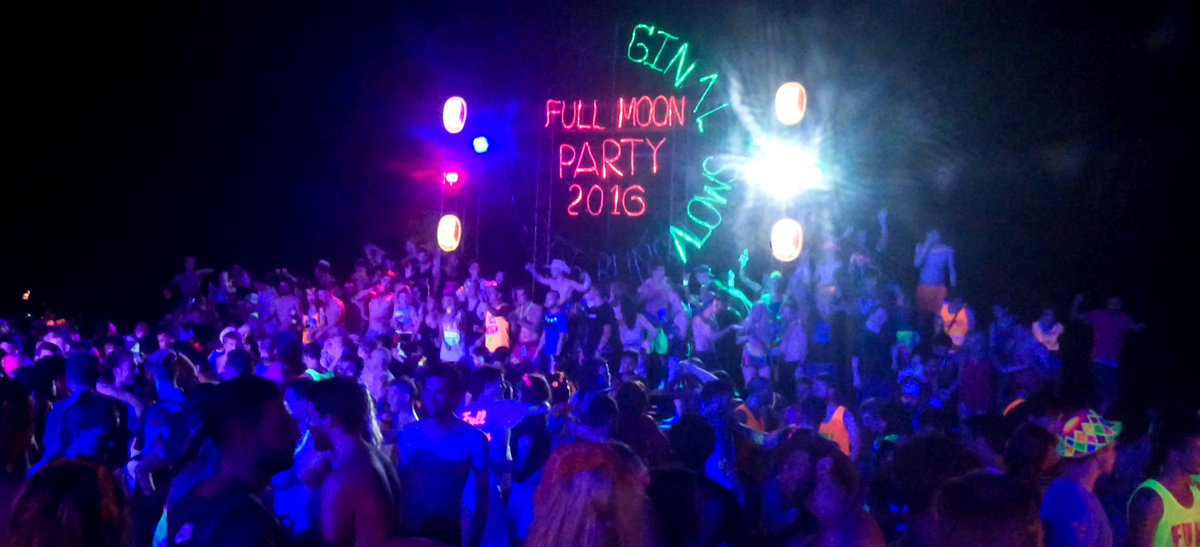 7 Steps to Having an Awesome Full Moon Party in Thailand