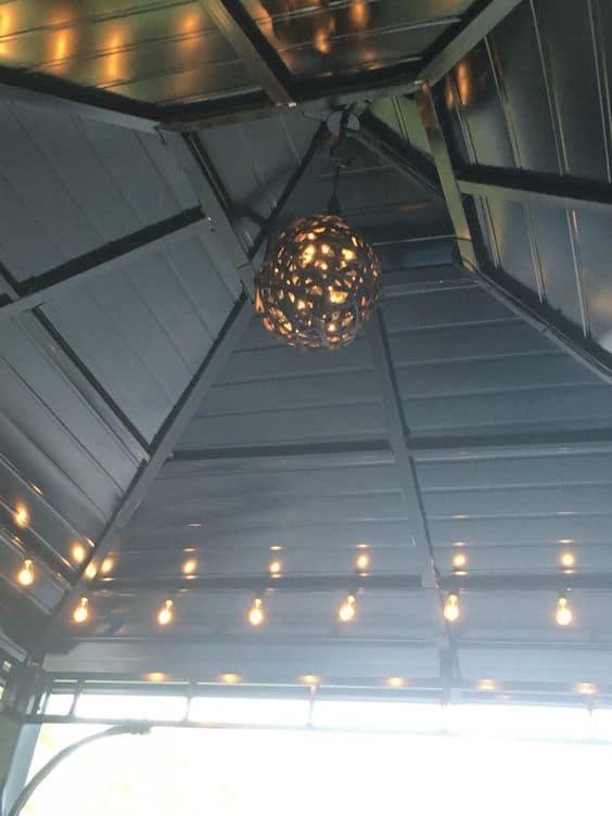 gazebo lighting ideas for 2021 a nest