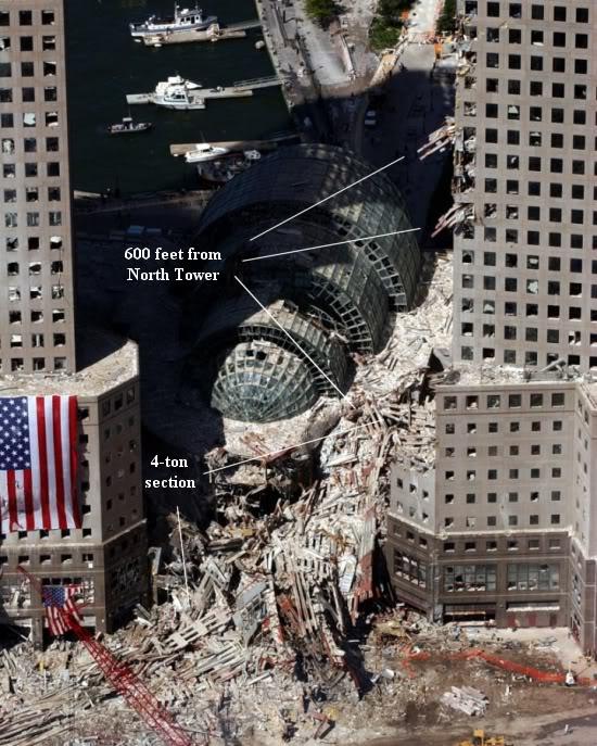 WTC damage