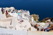 A photo of Luxurious Hotels in Oia, Santorini with their Plunge and infinity Pools on Terrace