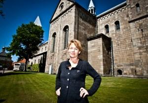 Pilgrimspræst Anette Foged Schultz ved Viborg Domkirke