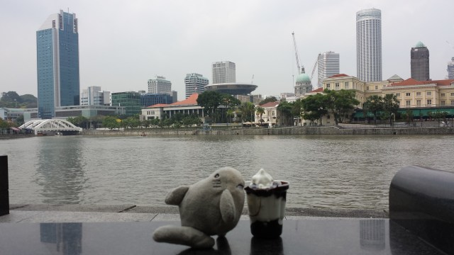 Singapore Raffles Place vand Haj is
