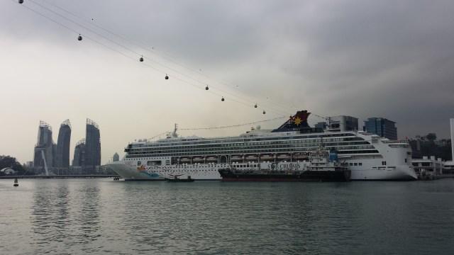 Singapore vand krydstogtskib