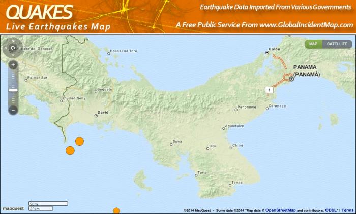 Jordskaelvskort