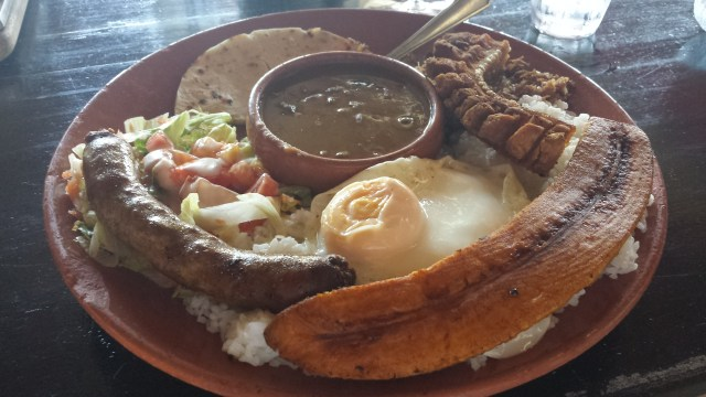 Mad pa colombiansk restaurant2