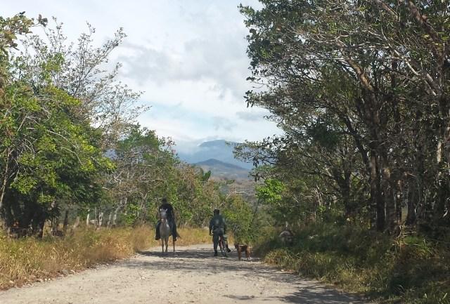 Koeretur mod hot springs grus politi pa cykel (beskaret)