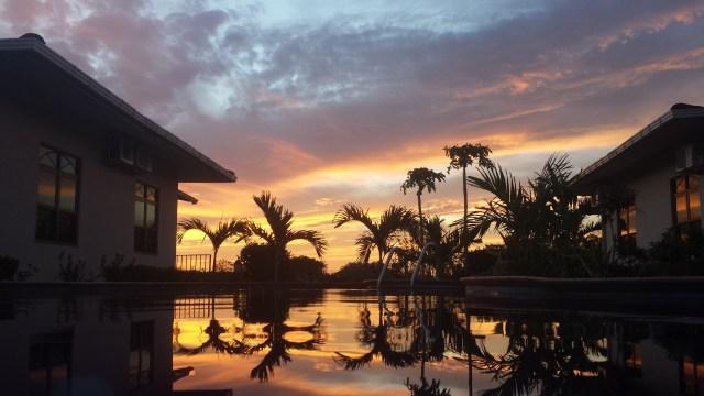 Cuesta del Sol solopgang med pool4