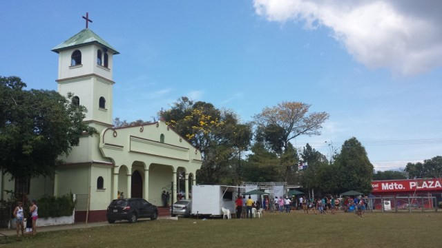 Karneval i Dolega kirken