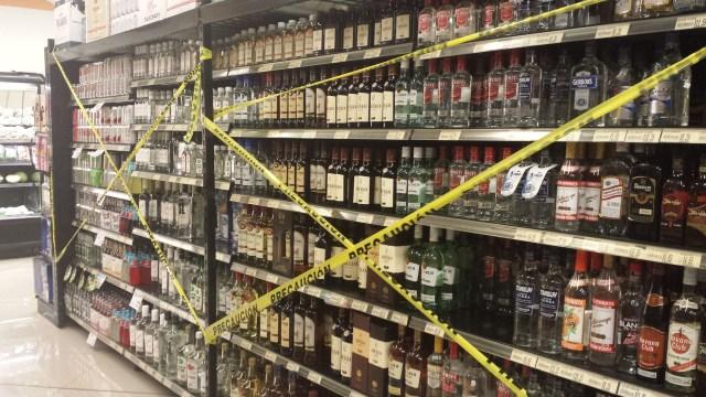 Alkoholforbud