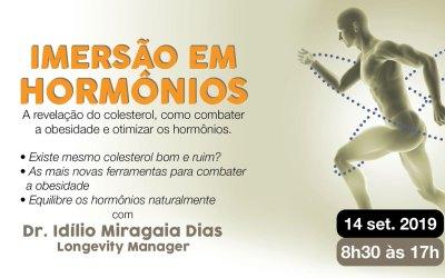 Imersão em hormônios – com Dr. Idílio Dias