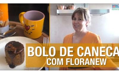 Bolo de Caneca com Floranew