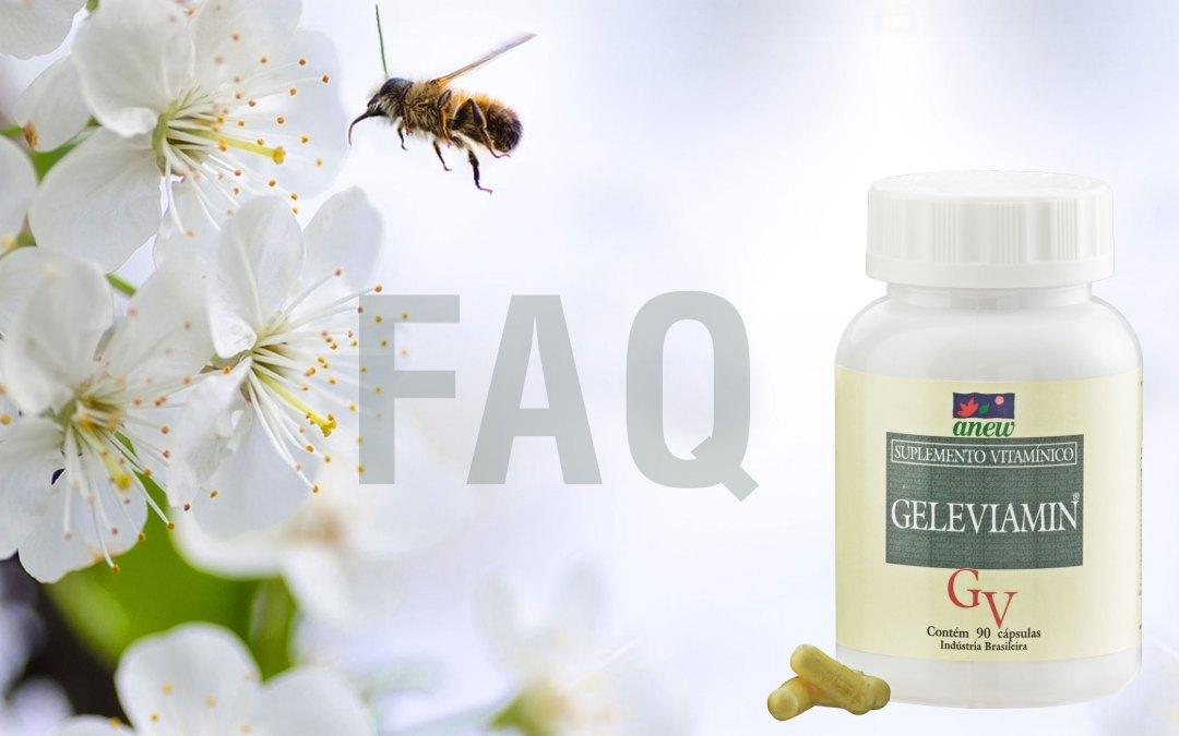 FAQ Geleviamin – perguntas e respostas geleia real