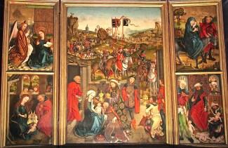 Retable of Nativity at St. Lorenz