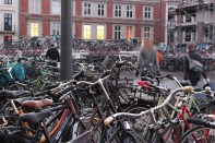 Bikes at Copenhagen's Central Station