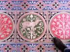 Tiles from Sainte-Chappelle's floor.
