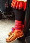 Boots of a Sami outfit.