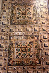 In 1503, King Manuel I brought glazed tiles called azulejos back from Spain, launching the tile trend.