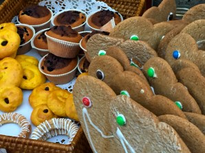 Saffron buns and other holiday goodies.