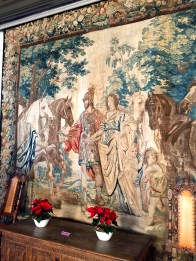 """One of the """"Bridal Tapestries"""" said to have decorated King Christian IV's bedchamber on his wedding night."""