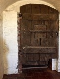 """The door to the dungeon and the """"Witch's Pit."""""""