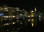Check out this nighttime view of Amsterdam. The homes' exteriors are basically just window walls, which make them look like lanterns bobbing on the water. It just doesn't get any better than this.