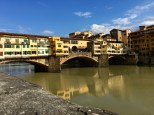 Clusters of apartments and jewelery shops cling like barnacles to the beautiful Ponte Vecchio. German Consul Gerhard Wolf not only intervened to protect the bridge and prevent many other works of Italian art from being carted off to Berlin, but he also saved several political prisoners and Jews from the Holocaust.