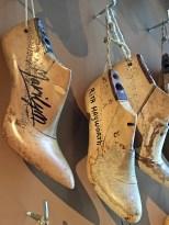 "Ferragamo's shoe ""lasts"" (forms) for famous people surprised me -- Marilyn Monroe's feet weren't so dainty."