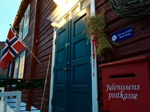 "The Julenisse (which means ""Christmas gnome/elf"" -- the equivalent of Santa Claus) has his own postbox at Hadeland."